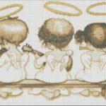 ангелочки играют на скрипке