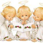ангелочки с книгой