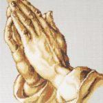 руки молящегося