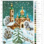Зимний вечер - церковь