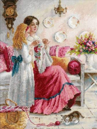 Уроки вышивки - вышивка картин
