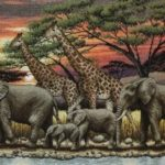 африканское семейство