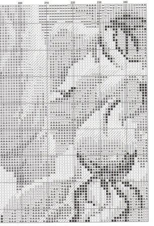 лунный кот-вышивка бисером