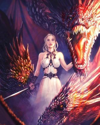девушка и дракон