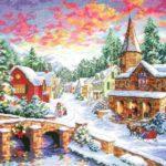 Рождественская деревенька