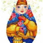 Матрешка - зимняя краса
