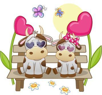 Молоденькие бычки к дню Святого Валентина