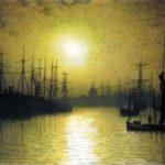Гримшоу Сумерки на Темзе 1880 г