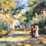 Ренуар Фигуры в саду