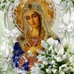 Богородица в цветах