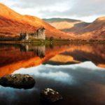 Замок Килхурн, Шотландия Осень