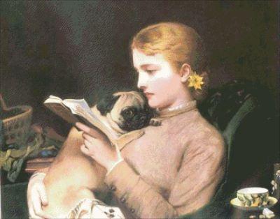 Блондинка и ее брюнетка-мопс
