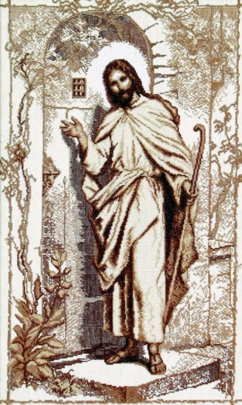 Иисус стучится в твою дверь