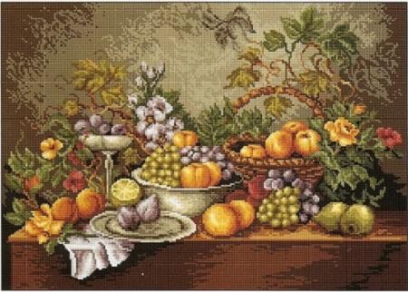 Натюрморт из плодов