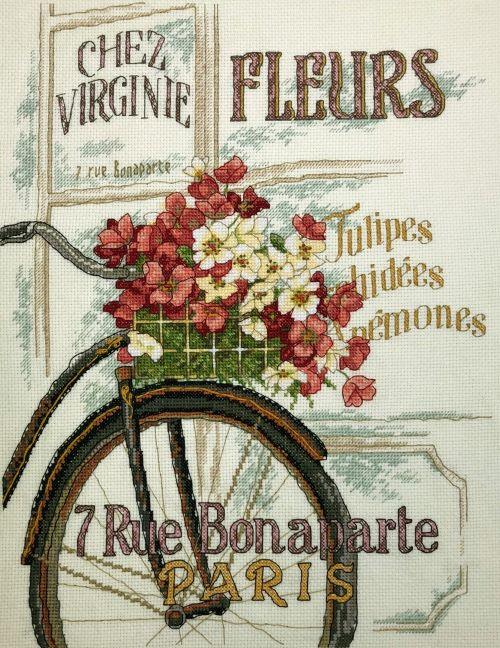 парижский велосипед