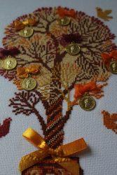 Денежное дерево - набор для вышивания