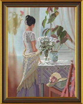 Ожидание -набор для вышивания