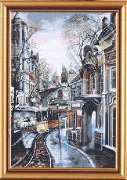трамвайный путь-наборы для вышивания